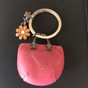 Vintage Brighton purse keychain